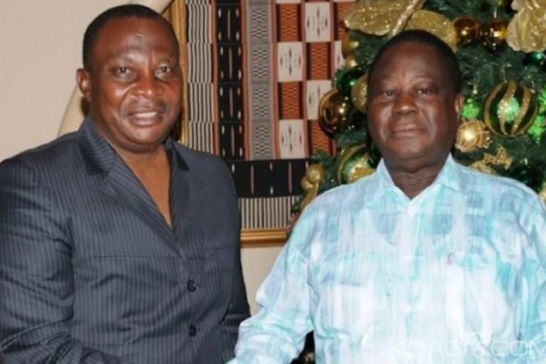 Adjoumani et Bédié