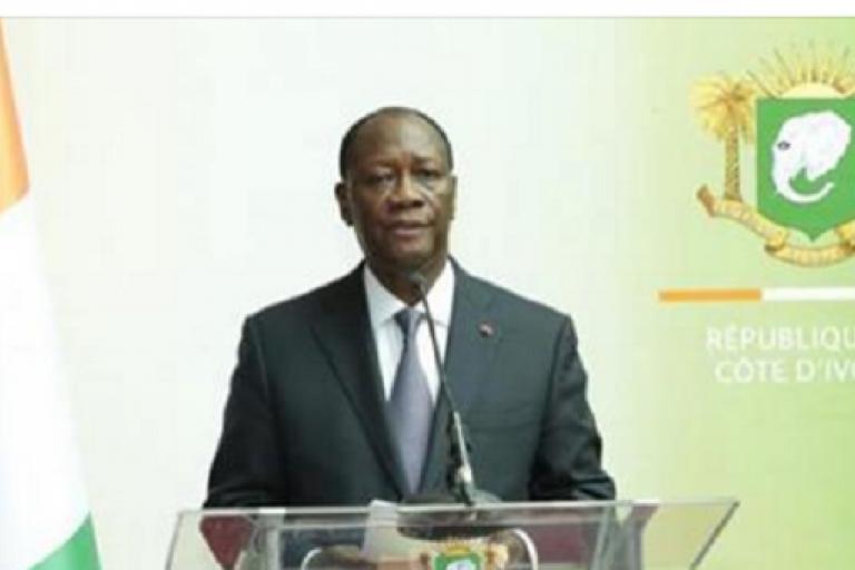 Les journalistes ont souhaité que M. Ouattara mette en place un
