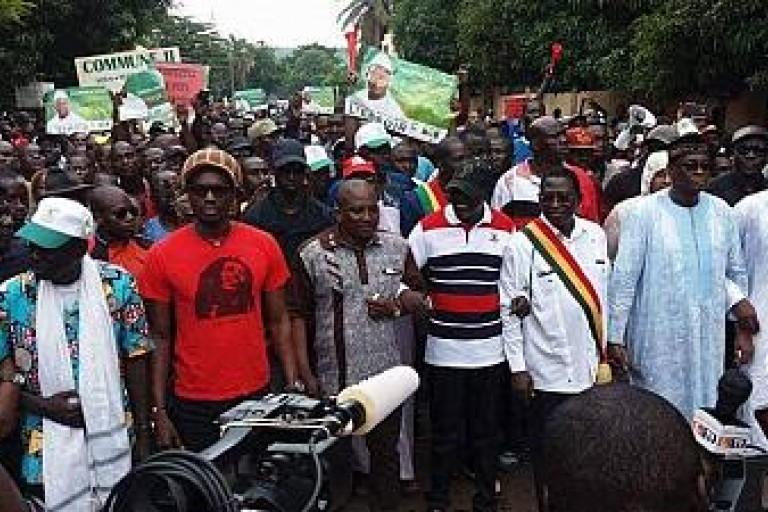 La marche de Soumaila Cissé empêchée