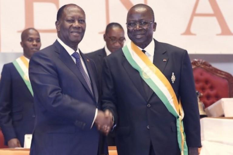 Démission du Sénat, les conditions d' Ahoussou-Kouadio à Ouattara