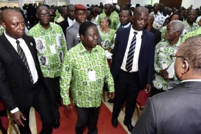 Les nouvelles nominations d'Henri Konan Bédié au PDCI