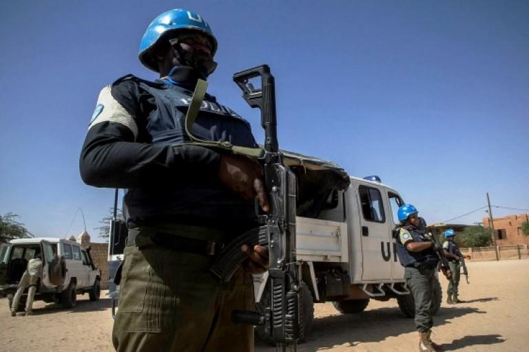 Un groupe jihadiste revendique l'attaque contre les casques bleus