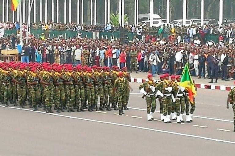 Célébration de la fête de l'indépendance en Guinée