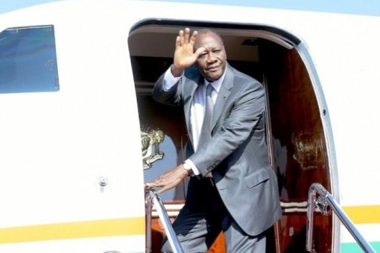 Alassane Ouattara s'est envolé pour Addis-Abeba