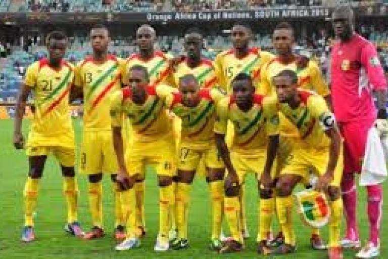 L'équipe malienne à la Can U20