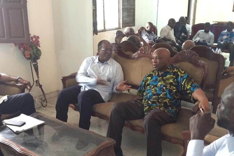 Armand OUEGNIN EDS et Dr Assoa Adou