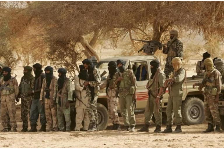 Des terroristes aux Mali