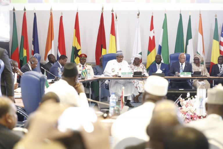 54e Sommet ordinaire des Chefs d'Etat de la CEDEAO