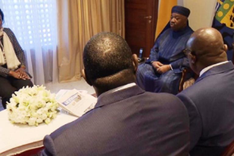 Des dignitaires gabonais au chevet d'Ali Bongo à Rabat