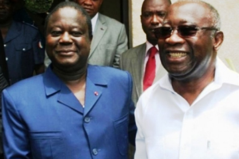 Le PDCI -RDA  de Henri Konan Bédié et Laurent Gbagbo du FPI iront ensemble à l'élection présidentielle de 2020