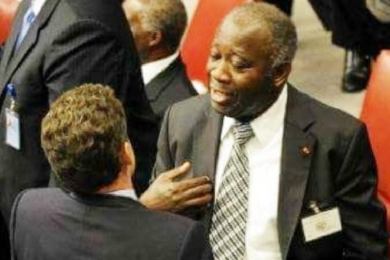Echanges entre Laurent Gbagbo et Nicolas Sarkozy