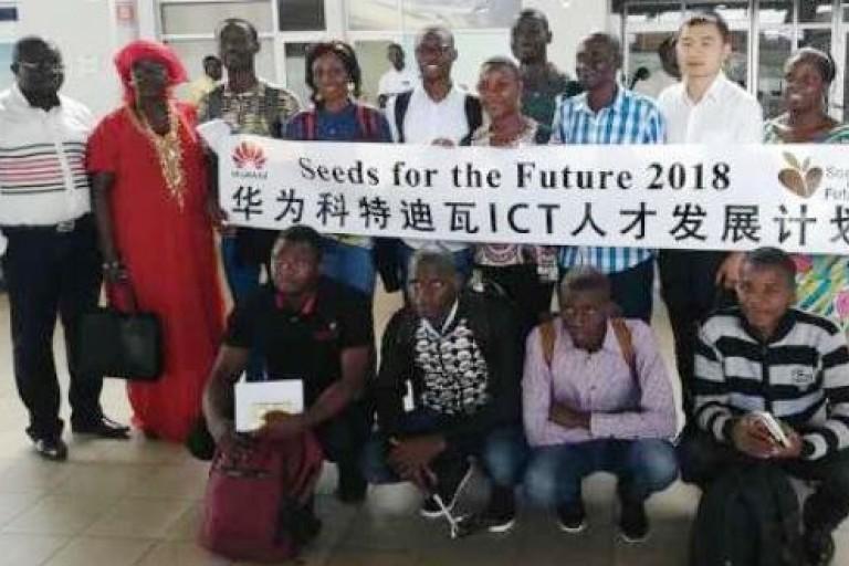 Huawei forme des jeunes ivoiriens au TIC