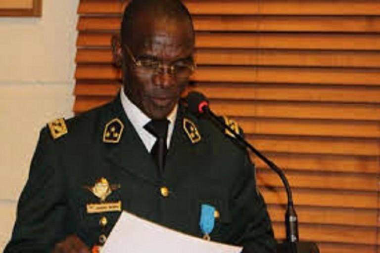 Diomandé Vagondo, ministre de la Sécurité et de la Protection civile