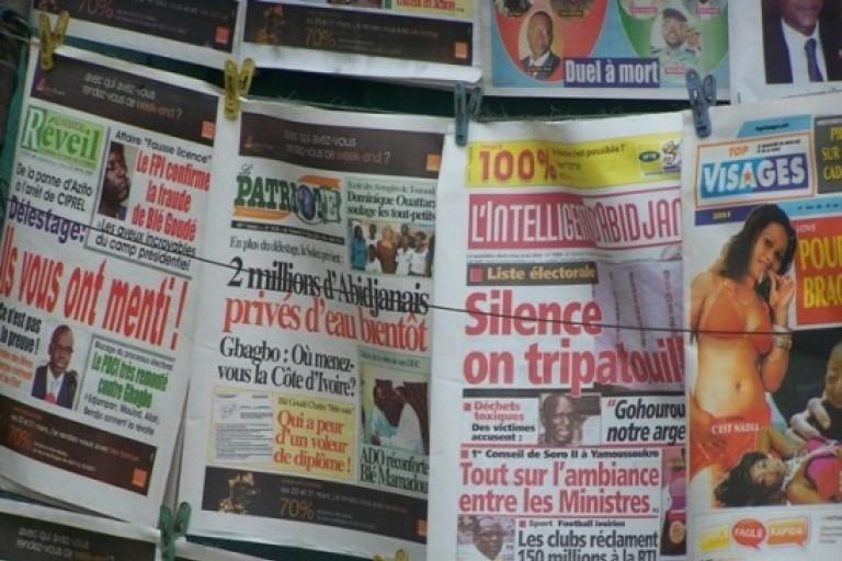 Conflit médiatique après l'acquittement de Gbagbo