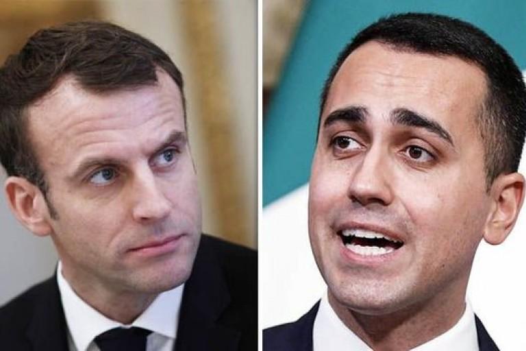 Emmanuel Macron et Luigi Di Maio, le franc fa et l'Afrique