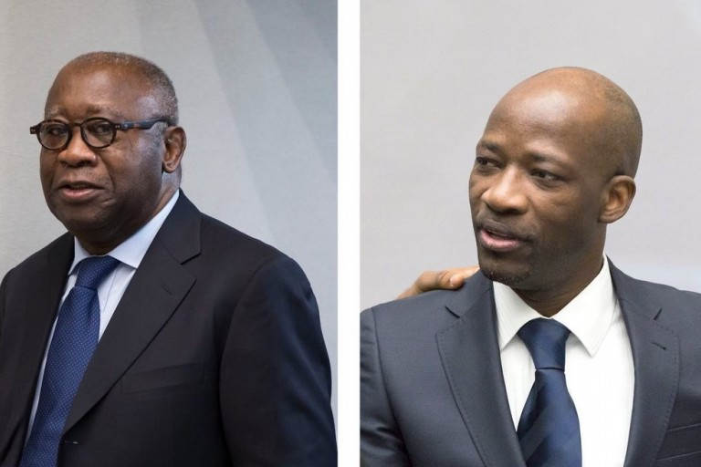 Laurent Gbagbo et Blé Goudé Charles libérés