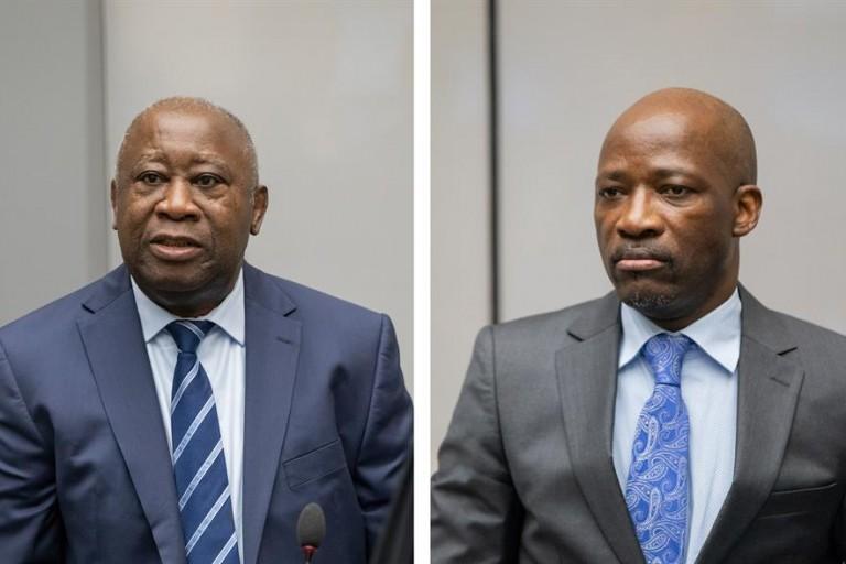 Laurent Gbagbo et Blé Goudé libérés
