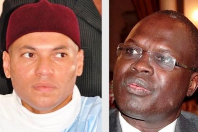 Karim Wade et Khalifa Sall écartés de la course à la Présidence