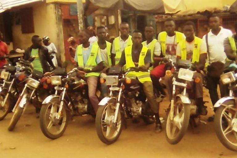 Chauffeurs de motos-taxis en colère après la bastonnade de l'un des leurs à Danané