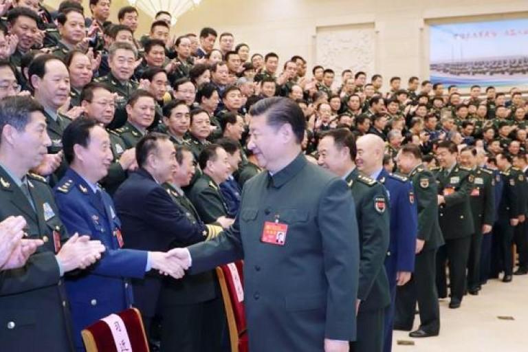 Xi Jinping prépare son armée au combat