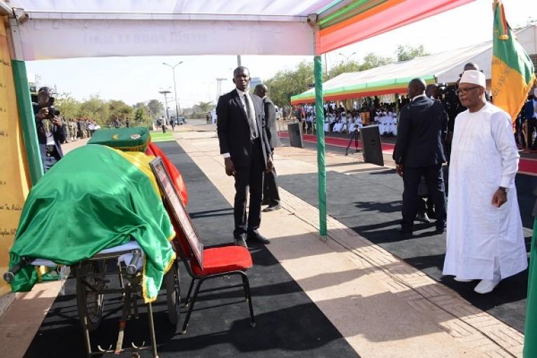 Funérailles Seydou Badian, Mali