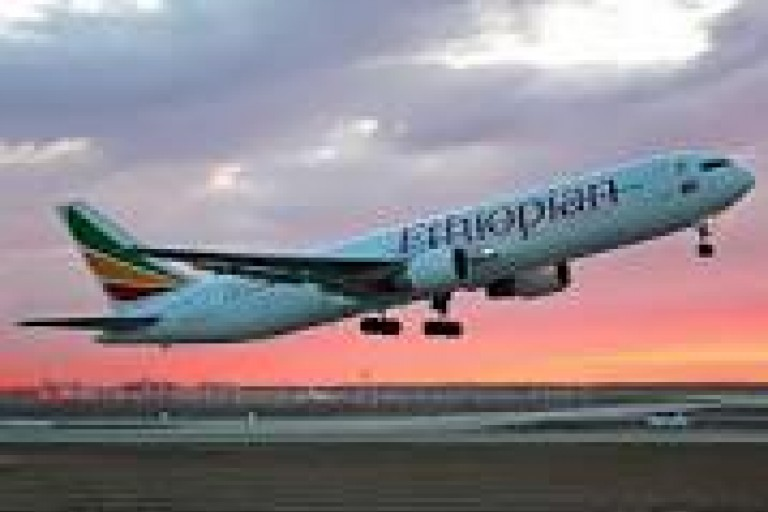 Avion de la compagnie Ethiopian Airlines