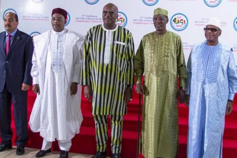 Roch Kaboré prend la tête du G5 Sahel