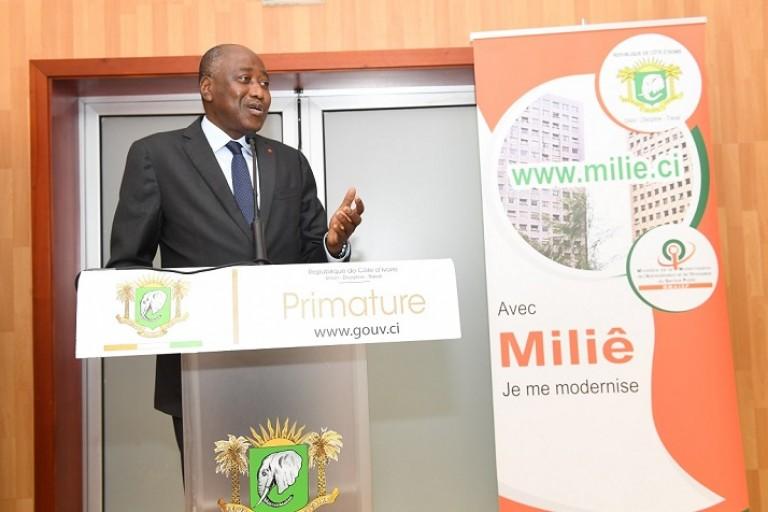 Gon Coulibaly au mlancement de Miliê