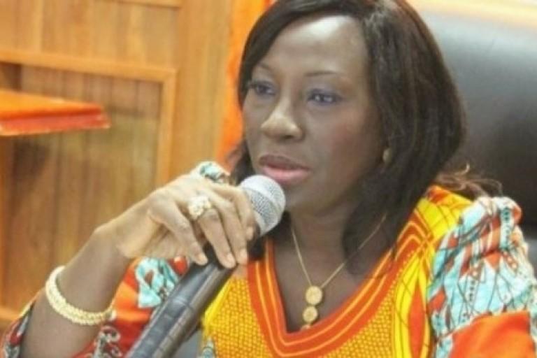 La ministre ivoirienne de l'Education nationale, Kandia Camara