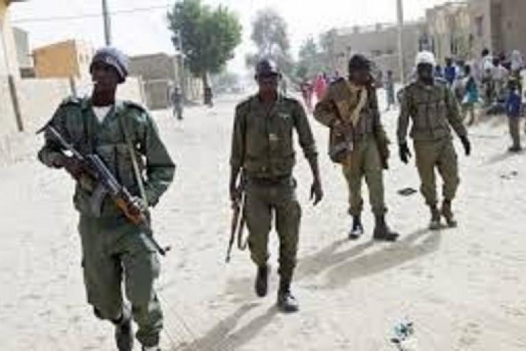 La police malienne