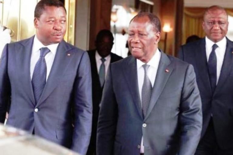 Rencontre entre Alassane Ouattara et Faure Gnassingbé