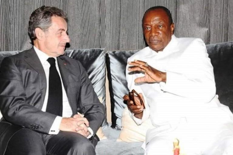 Nicolas Sarkozy fait la cour à Alpha Condé pour Beny Steinmetz