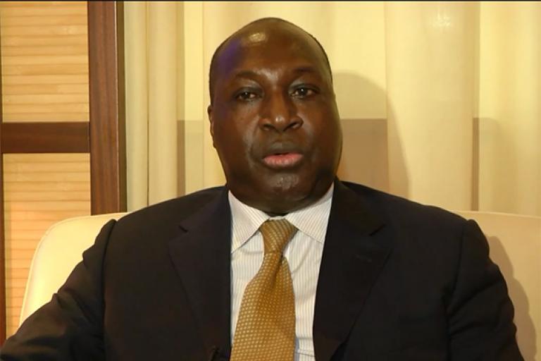 Zéphirin Diabré, chef de file de l'opposition