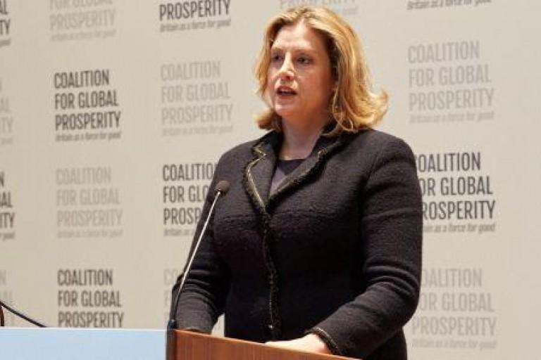 Penny Mordaunt, secrétaire d'Etat au développement international du Royaume-Uni
