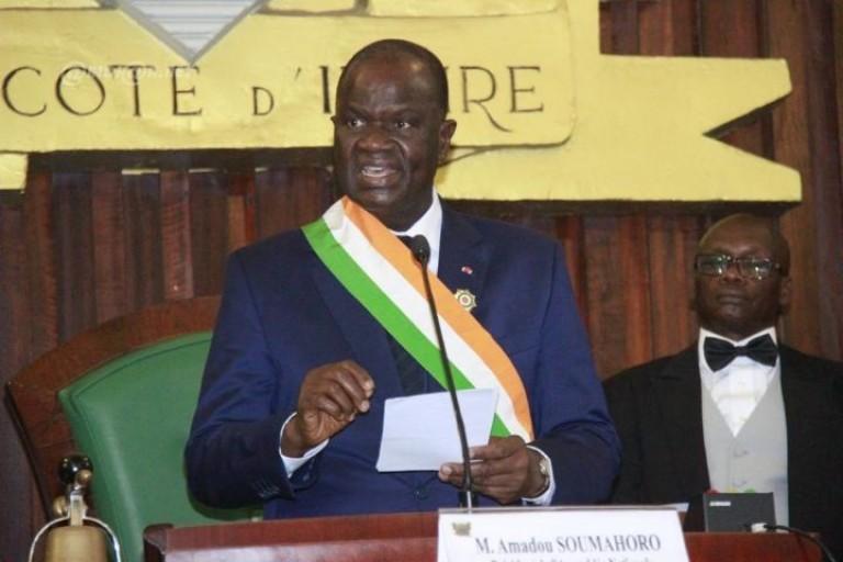 Amadou Soumahoro, nouveau Président de l'Assemblée nationale