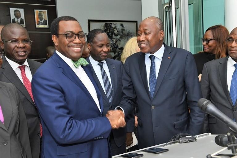 Appui financier de la BAD à la Côte d'Ivoire