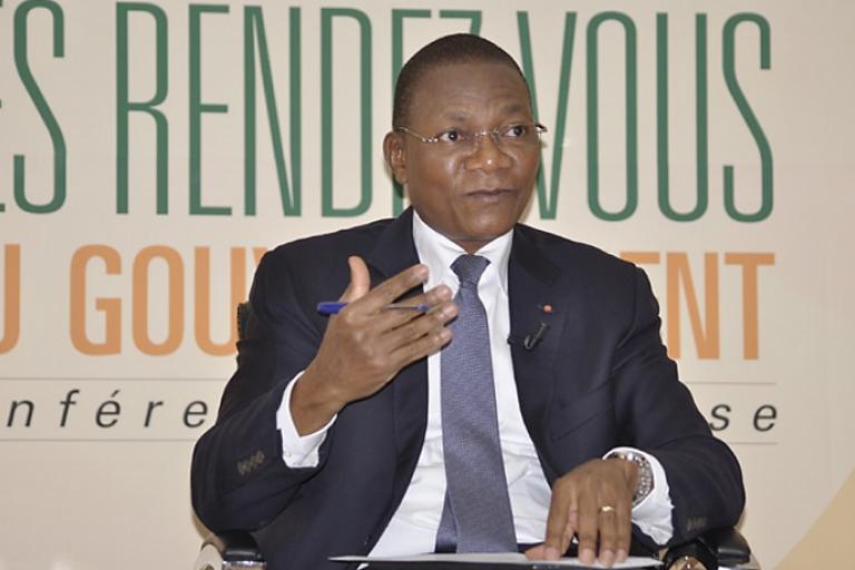 Bruno Koné, ministre de la Construction