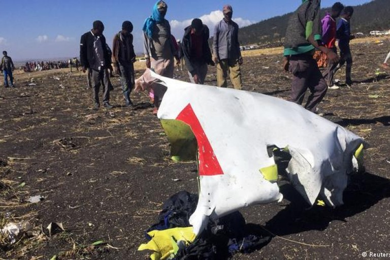 Crash d' Ethiopian Airlines