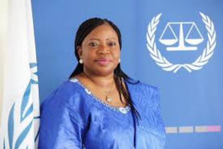 Fatou Bensouda, procureure de la Cour pénale internationale