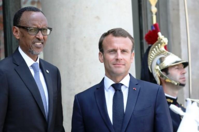 Emmanuel Macron et Paul Kagamé - vérité sur le génocide rwandais