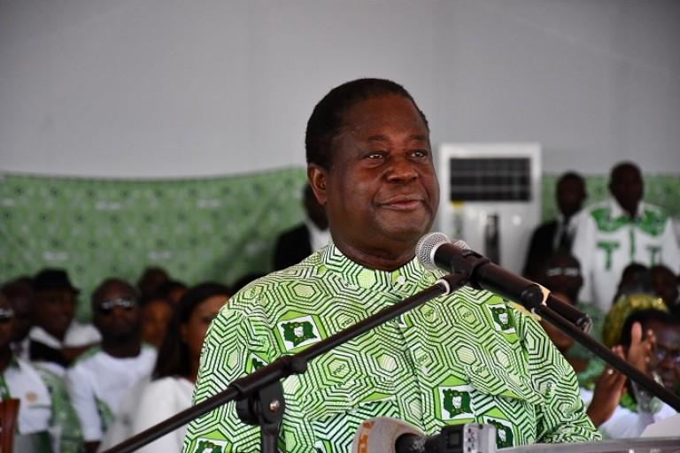 Bédié, président du Pdci-Rda