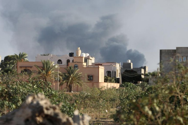 Les affrontements à Tripoli se sot intensifiés