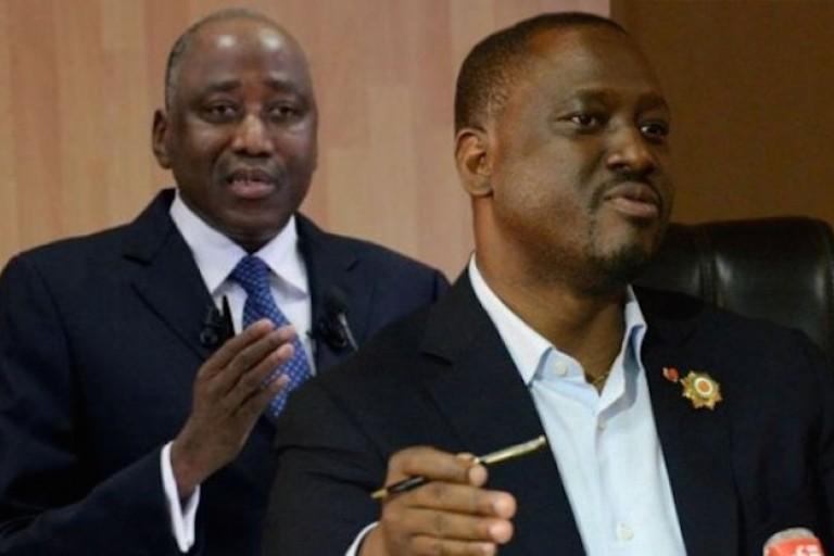 Amadou Gon Coulibaly tacle Soro