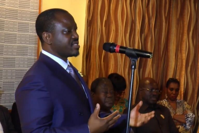 Guillaume Soro décès de Louise Ouattara