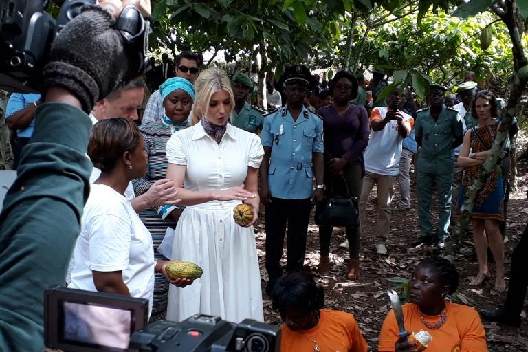 Ivanka Trump en Côte d'Ivoire pour l'autonomisation des femmes