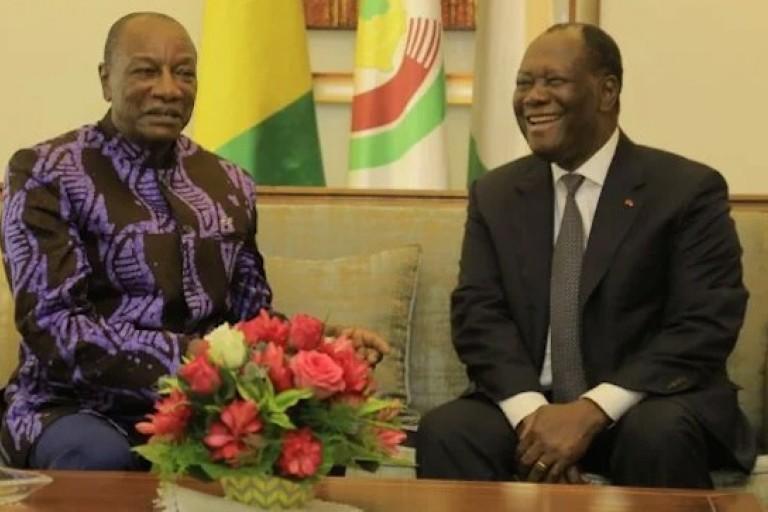 Alpha Condé et Alassane Ouattara, la tentation d'un 3e mandat