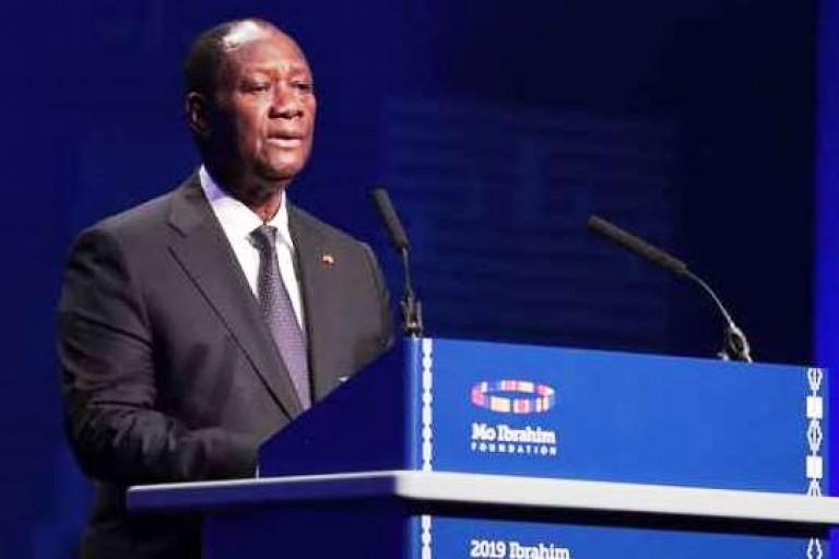 Alassane Ouattara au Forum Mo Ibrahim. Hommage à Kofi Annan