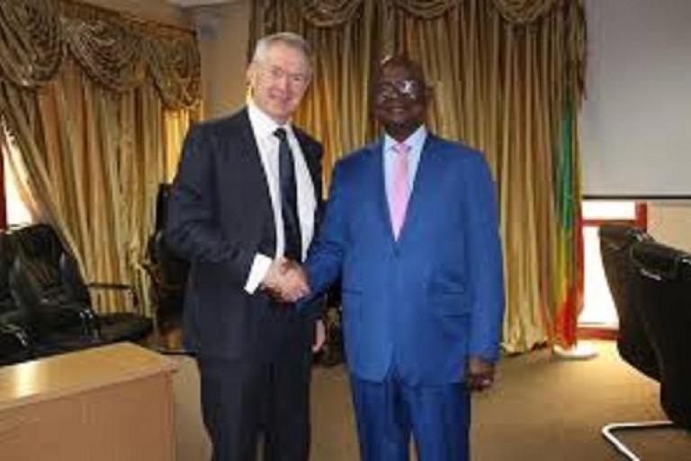 Peter Lewis, envoyé de la CPI au Mali