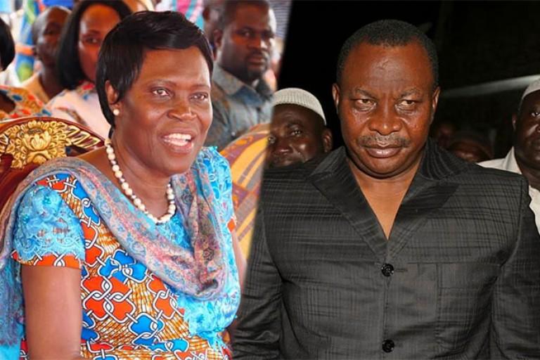 Simone Gbagbo - Kobenan Kouassi Adjoumani,
