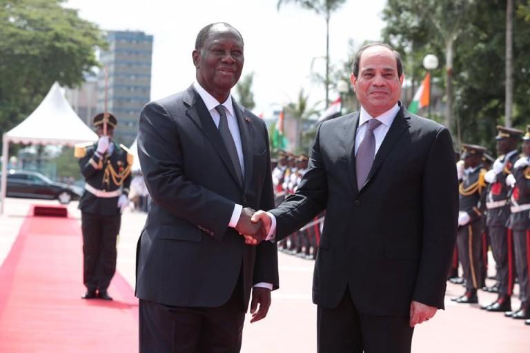 Alassane Ouattara et son visiteur ont reaffirmé leurs ambitions